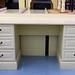 Cream painted writing desk