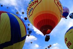 Balloon Fiesta, Albuquerque, NM (LindaJ55) Tags: newmexico canon balloons albuquerque colourful