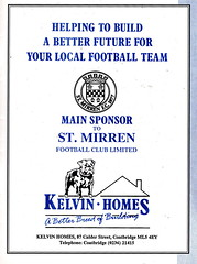 St Mirren vs Dundee United - 1990 - Page 21 (The Sky Strikers) Tags: street love st magazine official dundee united scottish match premier league bq mirren