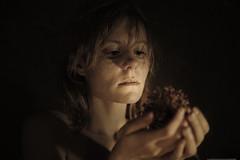 Gentle caress II (valerio magini photographer) Tags: light portrait woman hands indoor redhair