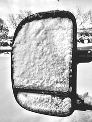 """Snow View Only"" Side view mirror of truck caught in a snow storm and blocking the rear view. Snow Snow  Rearview Rearview Mirror Snowcovered Truck Blackandwhite Photography Black And White Blackandwhite at Corona, New Mexico, USA (bradhodges09) Tags: blackandwhite snow truck rearviewmirror rearview snowcovered blackandwhitephotography snow"