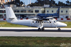 France Air Force --- De Havilland Canada DHC-6-300 Twin Otter --- F-RACE (Drinu C) Tags: plane aircraft aviation sony twin otter dsc mla frace dehavillandcanada dhc6300 lmml franceairforce hx100v adrianciliaphotography