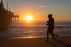 Manhattan Beach Pier -56   0003 (Katbor) Tags: sunset manhattanbeach joggers manhattanpier