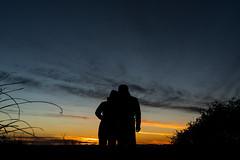 1602 Sunrise Together on Bear Mountain (c.miles) Tags: sunset sedona charles bearmountain alison bearmountaintrail