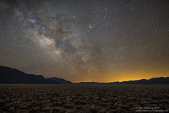 Devil's Golf Course Milky Way (Rick Whitacre) Tags: nightphotography stars deathvalley lightpollution milkyway devilsgolfcourse deathvalleynationalpark
