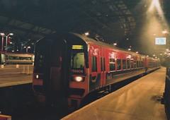 """First Transpennine Express 3-Car Class 158's, 158806 & 158810 (37190 """"Dalzell"""") Tags: liverpool first limestreet tpe atn class158 transpennineexpress arrivatrainsnorthern 3car maroongold 158810 158806 brelderby bluelowerbodyside"""