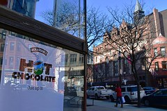 """Just Sip It!"" (AntyDiluvian) Tags: street sign boston shop store massachusetts newburystreet hotchocolate backbay sip benjerrys"