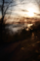 Untitled (/KENTAMA) Tags: ocean road light sunset sea sky abstract water landscape bokeh impressionism    ef35mmf2    eos6d