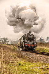 WSR_2016_03_11_032 (Phil_the_photter) Tags: watersmeet minehead leighwoods wsr 7f westsomersetrailway 8f 53808 53809 34098 standardtank templecombe 48624 80043 80072 roebuckcrossing