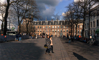 Cloudy weather in The Hague