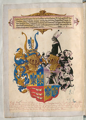 Jrg Breu the Younger The Secret Book of Honors of the Fugger Family Germany (c.1548) Bavarian State Library [BSB shelfmark: Cgm 9460] (medievalpoc) Tags: family art history germany arms coat illuminated manuscript younger jrg 1500s breu fugger medievalpoc