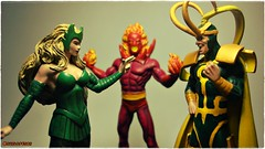 Enchantrees, Dormammu and Loki! (Gui Lopes BH) Tags: classic comics statues super collection loki heroes thor figurine marvel asgard miniaturas coleo enchantress dormammu encantor guilopesbh