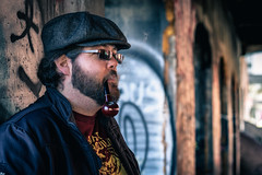 El Brotha (AxelBergeron) Tags: street famille portrait face beard brother montreal smoke badass pipe oldmontreal fumeur smoker tobacco bearded barbe taba visage barbu frère urbain vieuxmontreal urgan montrealdowntown