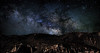 Desert Skies in Texas (Scott Sanford Photography) Tags: nightphotography trip travel vacation mountains canon stars eos bravo desert roadtrip springbreak astrophotography bigbend topaz milkyway 6d canonef50mmf14 supershot