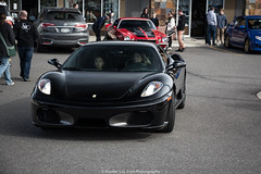 Great In Black (Hunter J. G. Frim Photography) Tags: black italian colorado ferrari supercar v8 f430 ferrarif430 carsandcoffee