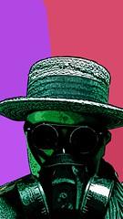 glorm4a_1350x2400 (trisbj) Tags: streetart liverpool diesel air warp pollution gasmask hobo pasteups asthma merseyside gasmasks bluecoat particulates glorms