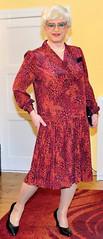 Ingrid021554 (ibach411) Tags: dress skirt mature pleated kleid faltenrock