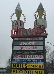 Vintage Carvel Sign, Hackensack, NJ (styertowne) Tags: neon neonsign carvel