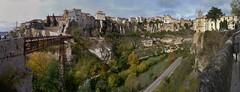 Cuenca Panorama (m_artijn) Tags: bridge panorama spain top hill paseo gorge casas cuenca colgadas huecar