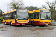 Aintree Coaches 121 YX65RFN (wdw1998) Tags: wright helms daf sb120 enviro200 aintreecoaches cb54bus cityraillink adl200 yx65rfn