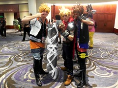 Kingdom Hearts (Wrath of Con Pics) Tags: cosplay finalfantasy sora kingdomhearts finalfantasyvii roxas animeweekendatlanta cloudstrife awa2015