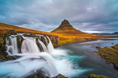 Kirkjufell (Ennio Pozzetti) Tags: longexposure light sky water clouds wow river landscape waterfall iceland nikon bravo kirkjufell d810 kirkjufellsfoss lucroit