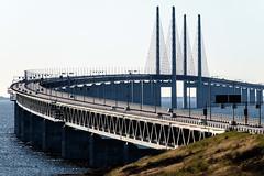 resundsbron (Hkan Dahlstrm) Tags: road railroad bridge sea copenhagen denmark photography se skne traffic motorway sweden border creative commons cc cropped malm f71 resund resundsbron 2016 motorvg skneln vster xe2 xc50230mmf4567ois sek 8811042016174136