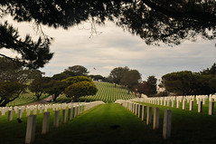 Fort Rosecrans National Cemetery (sobca) Tags: sandiego pacificocean pointloma cabrillonationalmonument navalbase fortrosecransnationalcemetery