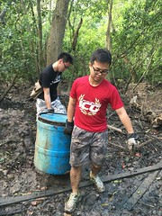 35-Env&CivSoc-World-Water-Day-LCK-Cleanup-26Mar16 (Habitatnews) Tags: mangrove capt nus worldwaterday limchukang iccs