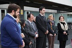Minut de silenci en record de les víctimes de l'accident de Freginals (Premsa SantCugat) Tags: en les de record ajuntament silenci 2016 santcugatdelvalles minut víctimes freginals localpres l'accident