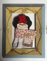 Viva la Vida (catimugella) Tags: lana diy colore arte cuore amore vita cornice passione dolore tessuto rebozo