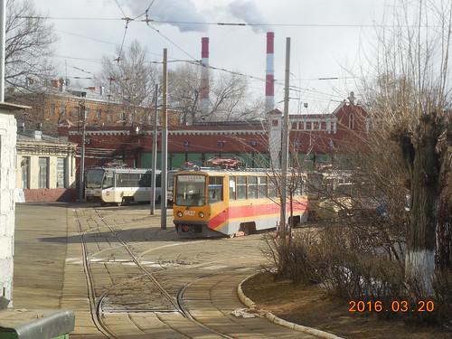 moscow special tram 0427 71-608KM