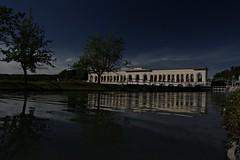 La diga del Panperduto (66Colpi) Tags: ticino blu fiume acqua canale naviglio diga villoresi sommalombardo fiumeazzurro panperduto energiaelettrica