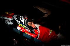 Eye of the Tiger (emanuele.fossen) Tags: italian ferrari racing international driver series gt endurance rosso giancarlo autodromo monza nazionale 2016 fisichella gtseries afcorse blancapain