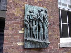 Marchers (moley75) Tags: sculpture london bronze strand university marchers kingscollegelondon fredkormis