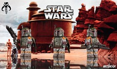 Boba Fett (McLovin1309) Tags: 6 star lego return empire jedi hunter boba wars custom iv bounty fett minifigure sarlacc epsiode