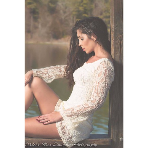 How about another pic of awesome Madison we did during her second shoot here. #brunette #beauty #outdoors #profilepic #gorgeous #shortdress #longhair #sexy #outdoors #lakeside #magnificent #nikon #d800