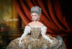 Chateau d'Esprit NEW RELEASE (Sofia von Essen) Tags: century court high 18th versailles wig claudette pouf rococo 1770s