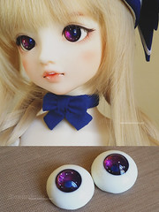 Galaxy eyes \*-*/ (Moonteahouse) Tags: eyes doll handmade sd bjd superdollfie volks abjd lieselotte moonteahouse mtheyes