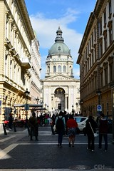 In the streets of Budapest