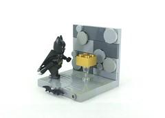 Batman - The Gold Brick Rises (TheRoyalBrick) Tags: lego batman vignette moc foitsop