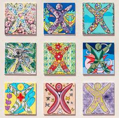 Street pattern . 16/52 (Tiziano Caviglia) Tags: streetart ceramica mural pattern liguria murale motivo maiolica vadoligure rivieradellepalme ceramictilework
