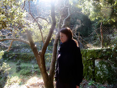 Ikaria's remotest hinterland 42 - Artemis in holly land (angeloska) Tags: portrait girl march ikaria aegean greece pezi hinterland hikingtrails   langada    vrakades  opsikarias
