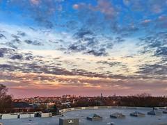 Sunset ((Jessica)) Tags: sunset sky boston skyline clouds massachusetts newengland somerville tufts goldenhour medford pw