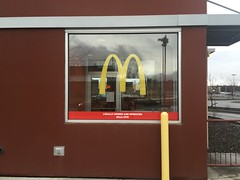 McDonalds Window Decals (PIP Alaska) Tags: signs graphics ambience largeformat etchedglass environmentalgraphics vinylsigns windowgraphics customgraphics alaskasigns architecturalgraphics fasara vinylapplication vinylfilm pipprinting wideformatprinting frostedvinyl diecutgraphics anchoragesigndesign anchoragesigns