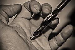 Iesu XXI (Ignacio M. Jimnez) Tags: hand jesus twist mano drill broca macromondays