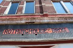 Rothinghouse Drug Store (7) (Gsanvin) Tags: sign jonesboro 1896 rothinghouse