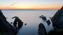 The Moment (somazeon) Tags: sunset japan lumix twilight panasonic f28 tottori iwami  gx7 1235mm   senganmatsushima