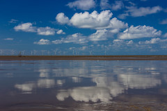 Reflective Mersey (juliereynoldsphotography) Tags: reflections landscape wind path farm coastal crosby sefton rivermersey julierobinson juliereynolds