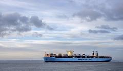 The Merete Maersk (Wouter de Bruijn) Tags: water landscape boat ship outdoor cargo container fujifilm shipping maersk xt1 fujinonxf35mmf14r